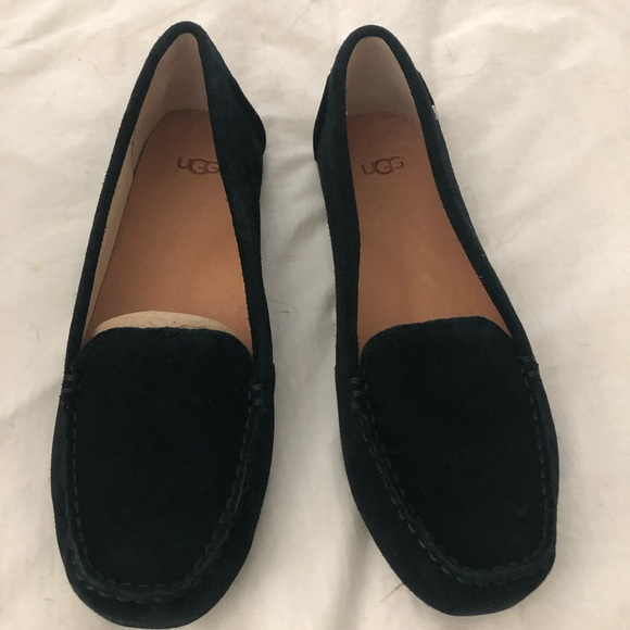 f47f150c444 UGG Milana Loafers Black -Size 7.5 NWT